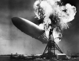 hindenburg zeppelin, disaster recovery for small business